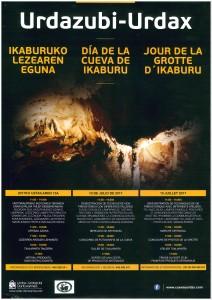 Programa Día de la Cueva de Ikaburu, (2017).
